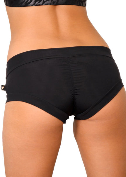 ALL THE FEELS: Essential Hot Pants in Black - CLEO THE HURRICANE
