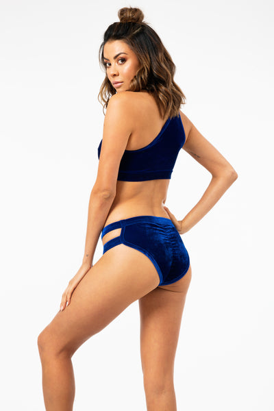ALL THE FEELS: Blue Velvet Bottom - BANDURSKA