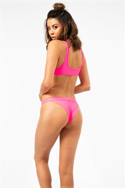 ALL THE FEELS: Cole Bottoms in Pink - FRANKIES BIKINIS