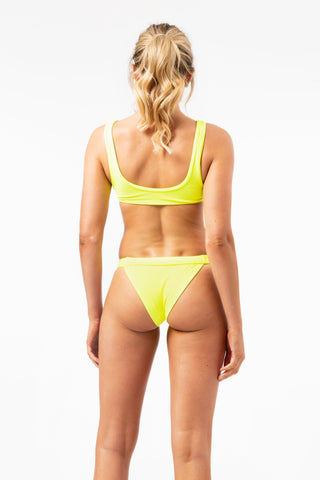 ALL THE FEELS: Cole Bottoms in Yellow - FRANKIES BIKINIS