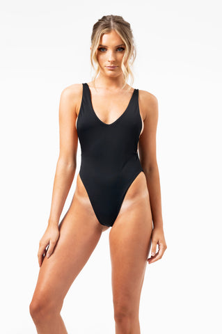 ALL THE FEELS: The Crawford Bodysuit in Midnight - FRANKII