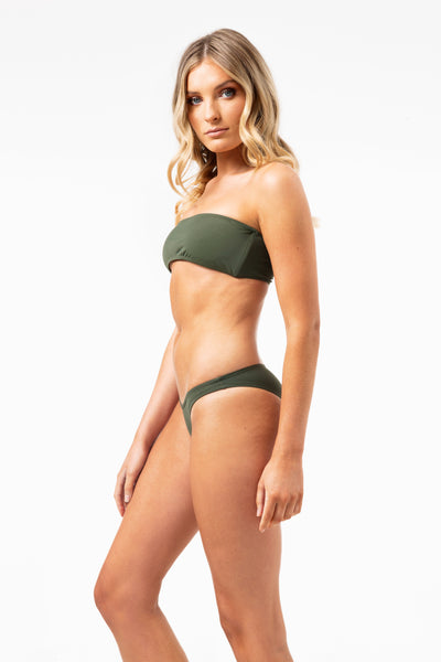 Skimp Bikini Bottoms in Khaki