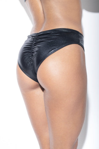 LL THE FEELS: Flirt Vegan Leather Bottoms - RAD POLEWEAR