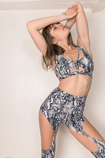ALL THE FEELS: Baby Valentine Top Snake - CHANTAY POLEWEAR