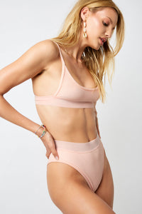 ALL THE FEELS: Gabrielle Bikini Peach - FRANKIES BIKINIS