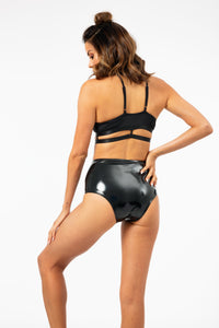 ALL THE FEELS: Heroine Liquid High Waisted Hot Pants - CLEO THE HURRICANE