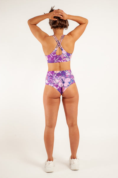 ALL THE FEELS: High Booty Shorts in Bloom - AMBR