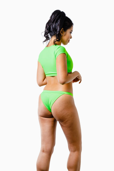 ALL THE FEELS: Indie Bikini Neon Green - VDM THE LABEL