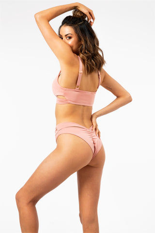 ALL THE FEELS: Ivy Bottom in Blush - LUNA POLE WEAR