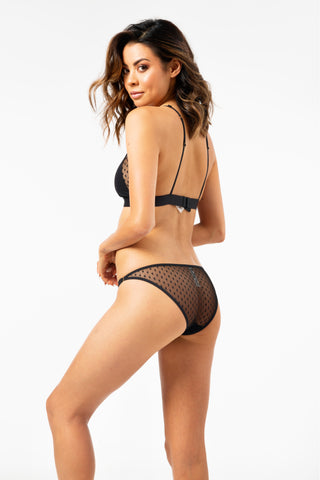 ALL THE FEELS: Shelby Briefs in Stars Black - LOVE STORIES