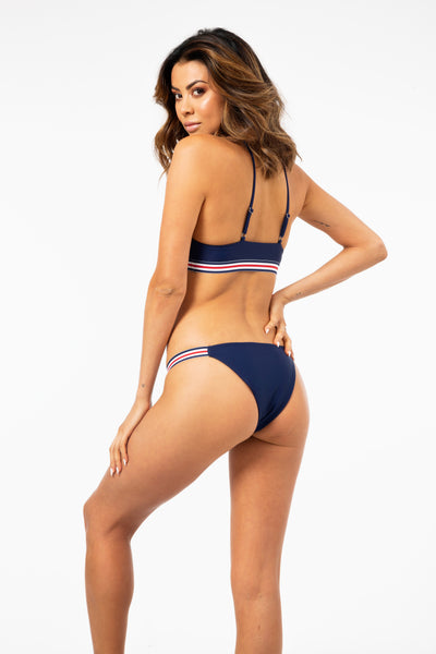 ALL THE FEELS: The Jordan Bottom in Navy - VDM THE LABEL