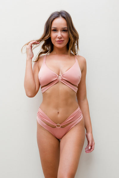 ALL THE FEELS: Ivy Top in Blush - LUNA POLE WEAR
