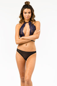 Blaise Bralette in Navy FINAL SALE