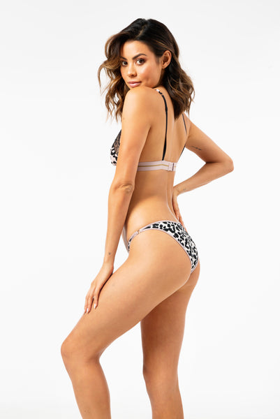 Shelby Briefs in Leopard Grisalle