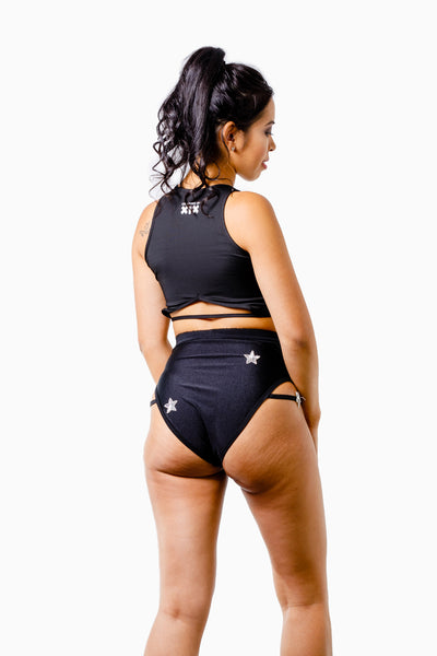 ALL THE FEELS: Luna Bottoms Black - EASTNWEST