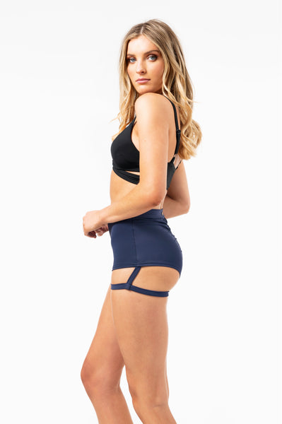ALL THE FEELS: Lure You High Waist Bottoms - LUNA POLE WEAR