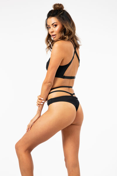 Manola Bottoms in Black