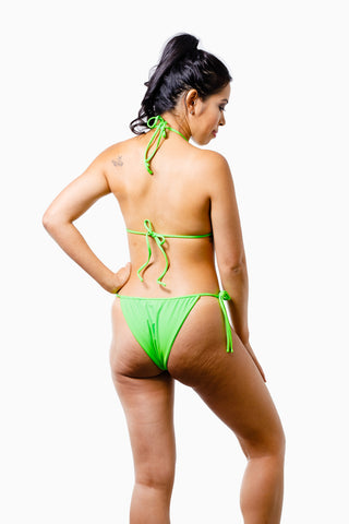 ALL THE FEELS: Marley Bikini Neon Green - VDM THE LABEL