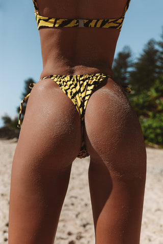 Marley Bottoms in Yellow Tiger