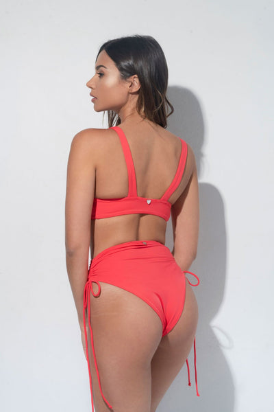 ALL THE FEELS: Moana Bottoms in Coral Eco - RAD POLEWEAR