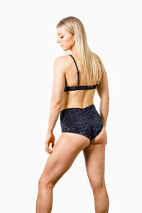ALL THE FEELS: Eve Velvet Bottoms Black - RAD POLEWEAR
