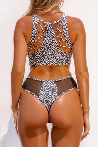 ALL THE FEELS: Safari Cheeky Bottoms in Elephant - CREATURES OF XIX