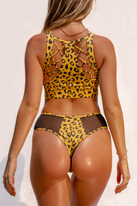 ALL THE FEELS: Safari Cheeky Bottoms Yellow - CREATURES OF XIX