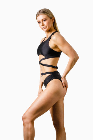 ALL THE FEELS: Ribelle Bottoms Black - ADAML
