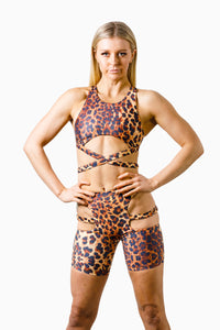 ALL THE FEELS: Sassy Biker Bottoms Leopard - ADAML