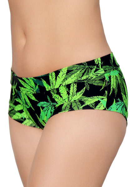 ALL THE FEELS: Pot Poler Hot Pants - CLEO THE HURRICANE