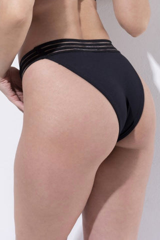 ALL THE FEELS: Power Bottom in Black - RAD POLEWEAR