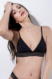 ALL THE FEELS: Power Top in Black - RAD POLEWEAR