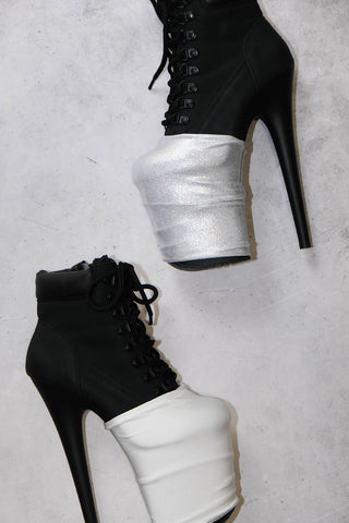 ALL THE FEELS: Reversible Bootie Protectors in Felicity - HAUS OF HEEL