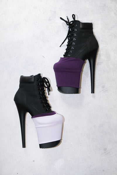 ALL THE FEELS: Reversible Bootie Protectors in Vega - HAUS OF HEEL