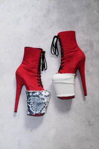 ALL THE FEELS: Reversible Bootie Protectors in Madam - HAUS OF HEEL