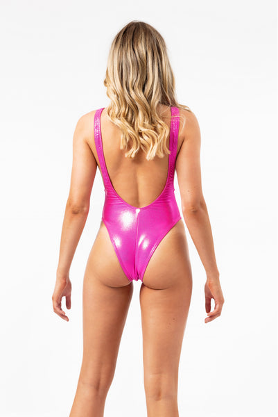 ALL THE FEELS: Serena One Piece Fuchsia - RAD POLEWEAR