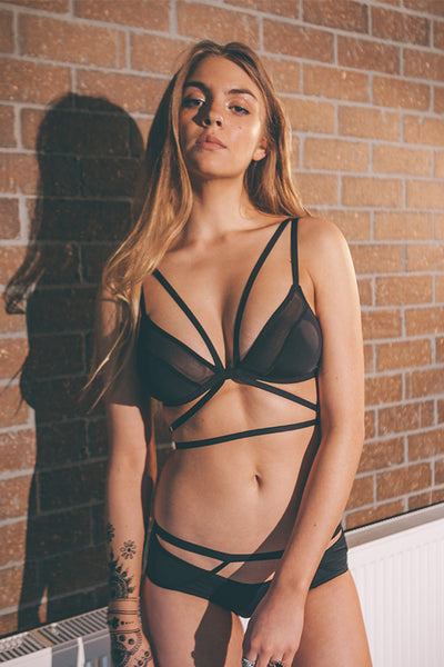 ALL THE FEELS: Making Moves Bralette - SILENT ARROW