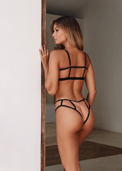 ALL THE FEELS: Sinner Bottoms in Rose Gold - CREATURES OF XIX