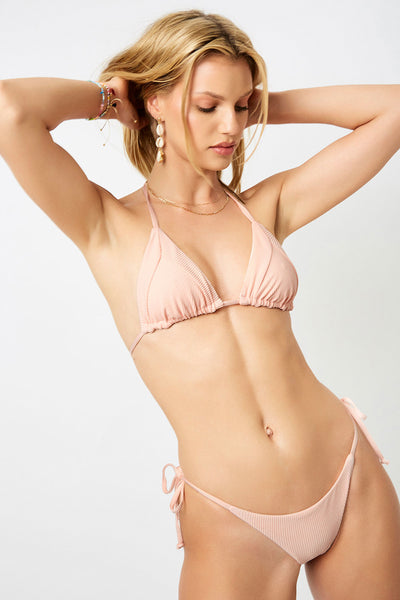 ALL THE FEELS: Sky Bikini Peach - FRANKIES BIKINIS