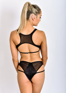 ALL THE FEELS: Toxotic Top Bottoms Pink Black - ADAML