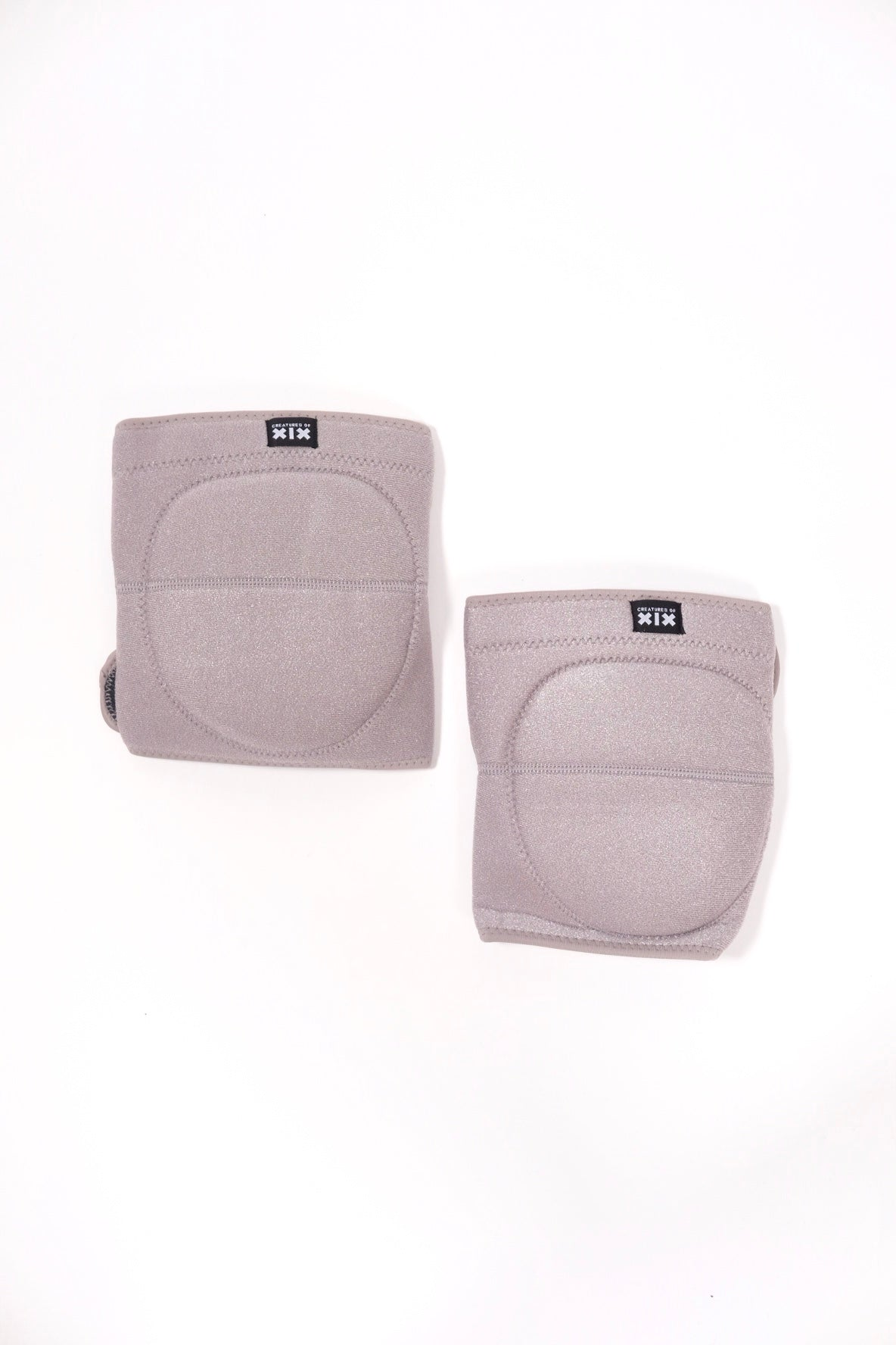 Velcro Knee Pads in Grey Wolf