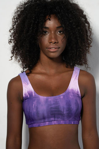Waterfall Top in Lilac