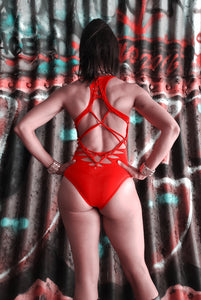 XXX Bodysuit in Red