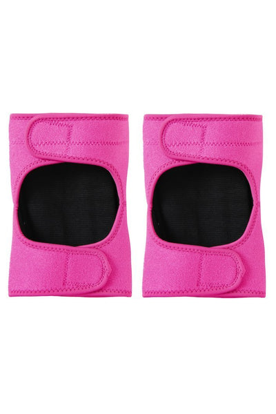 Velcro Knee Pads in Pink Panther