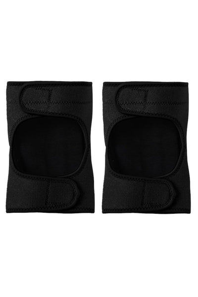 Velcro Knee Pads in Black