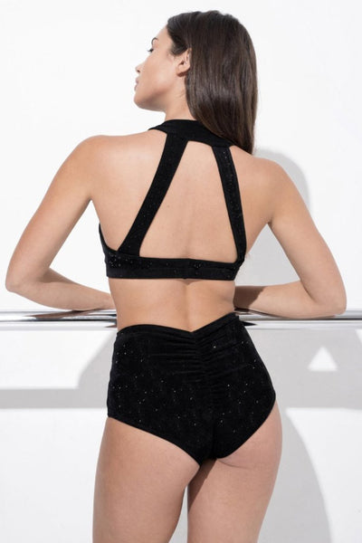 ALL THE FEELS: Glitter Eve Bottoms - RAD POLEWEAR