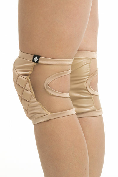 Knee Pads in Invisible Nude