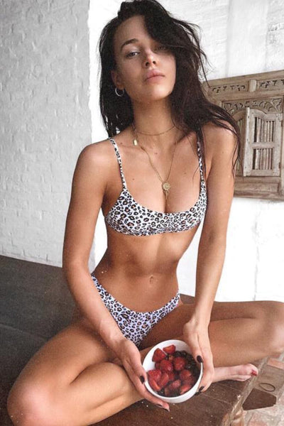 ALL THE FEELS: Luna Top in Cheetah Print - LAHANA SWIM