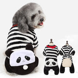Coral fleece transforms into pet clothes cartoon animal show MOE dog clothes