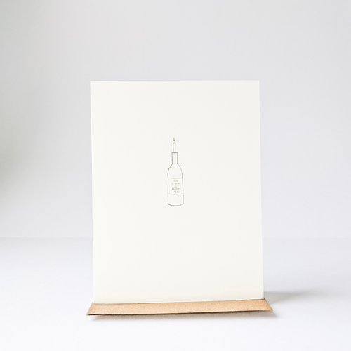 Birthday Bottle Card